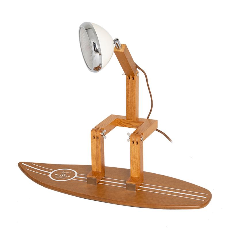 Mr. Wattson Surfbrett für Tischlampe