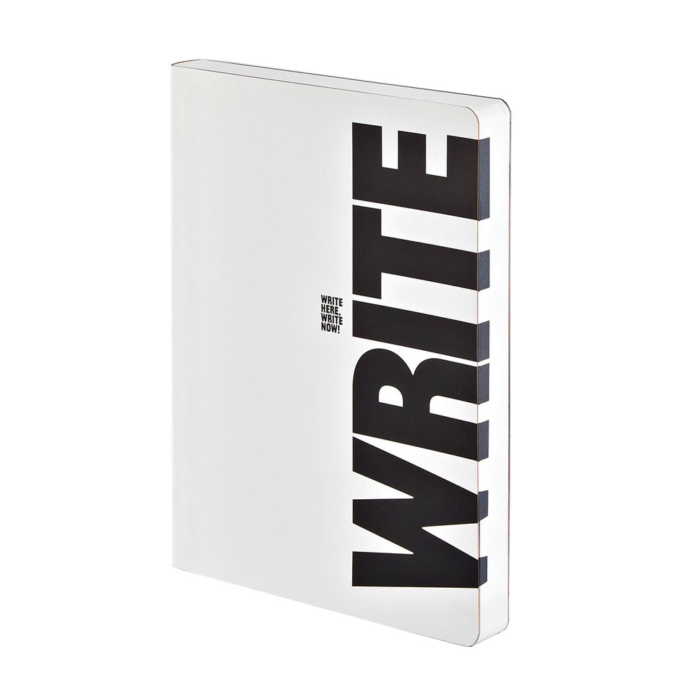 "NUUNA Notizbuch ""WRITE - WRONG"""