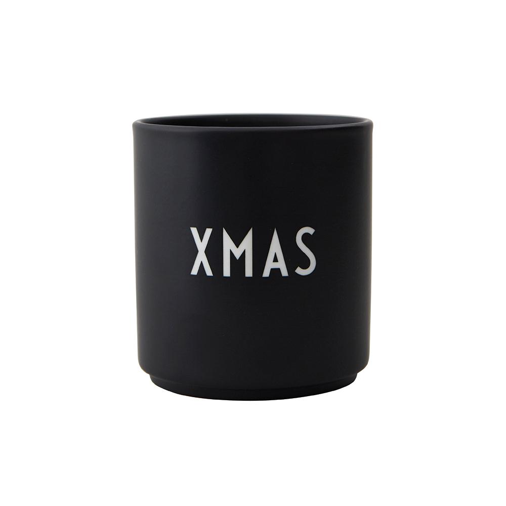 Design Letters Porzellan Becher  XMAS black