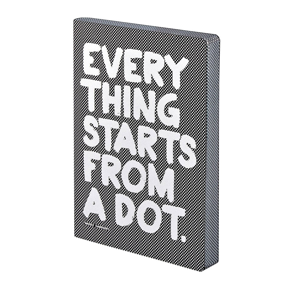 "NUUNA Notizbuch ""EVERYTHING STARTS FROM A DOT."""