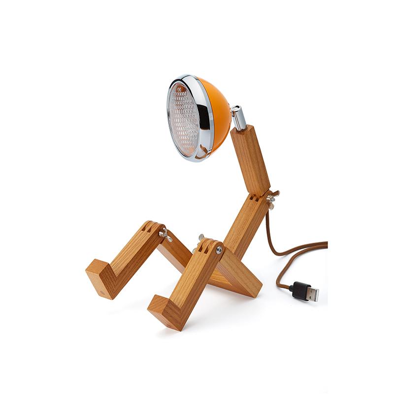 Mini Mr. Wattson, Tischlampe LED - Orange