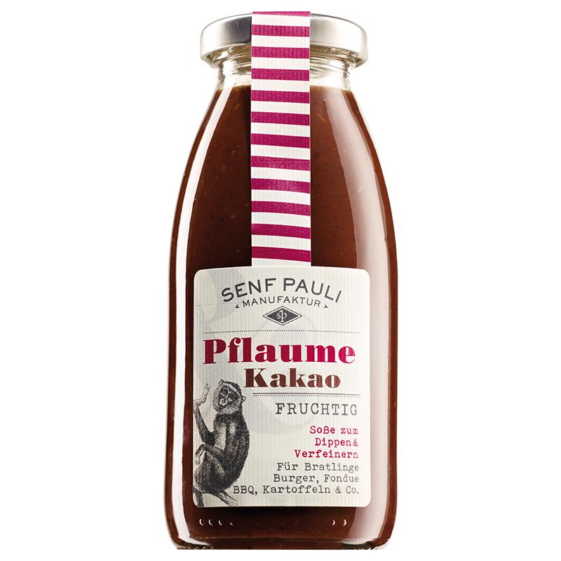 "Soße ""Pflaume & Kakao"" fruchtig von Senf Pauli"
