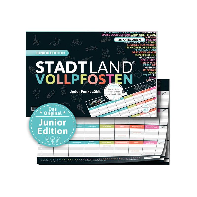 Stadt Land Vollposten - Junior Edition