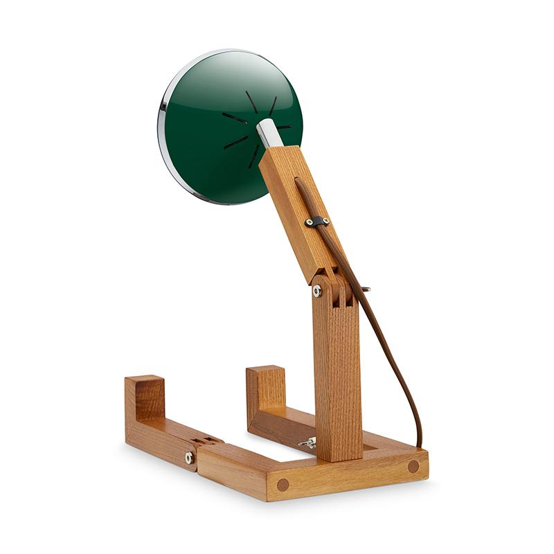 Mr. Wattson Tischlampe LED Chiltern Green