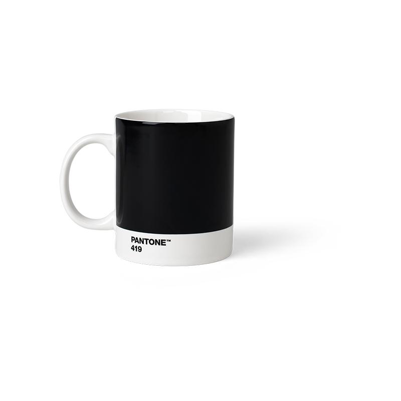 Pantone Porzellan-Becher black 419