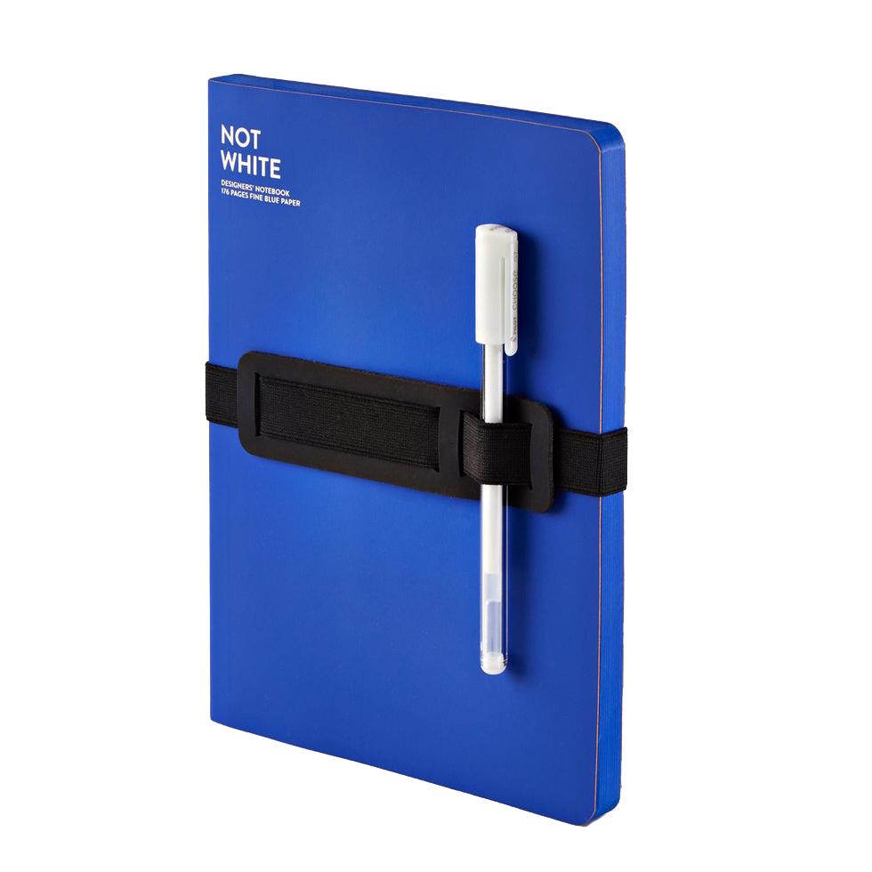 "NUUNA Notizbuch ""NOT WHITE"" blau"
