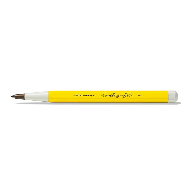 Leuchtturm Drehgriffel Nr. 1 Designkugelschreiber, gelb