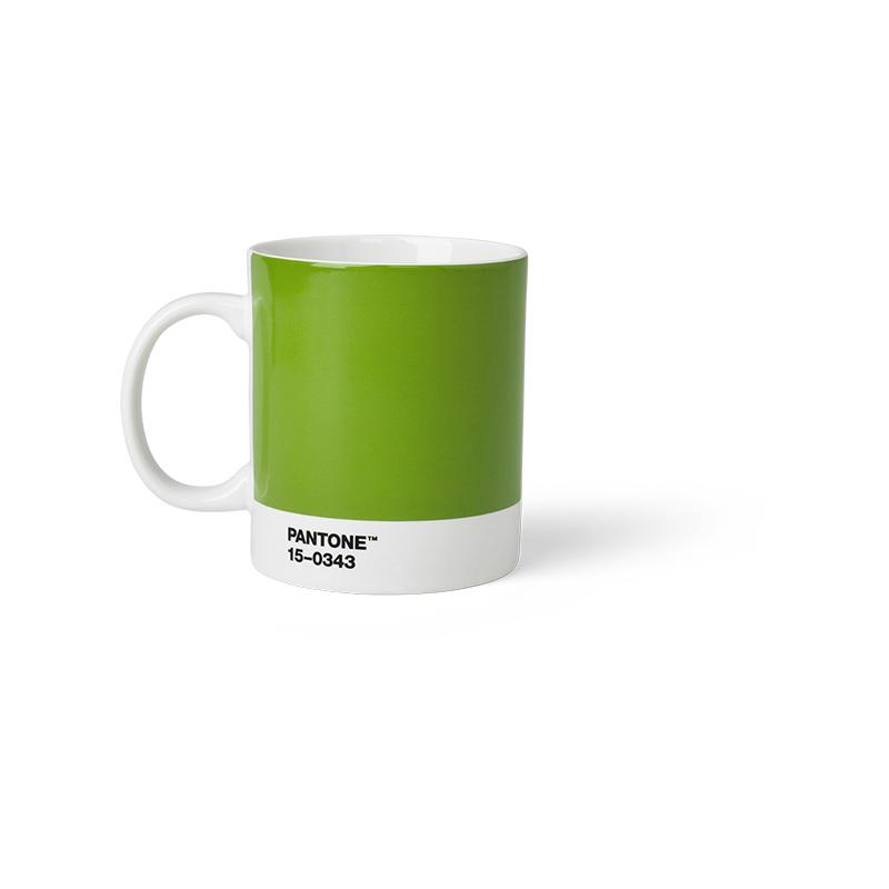 Pantone Porzellan-Becher green 15-0343