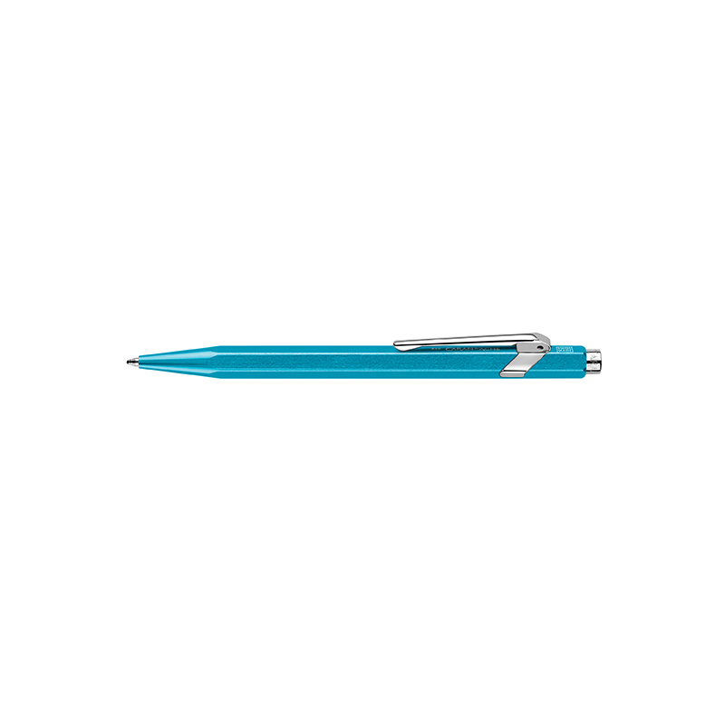 Caran D´Ache Kugelschreiber 849 CLASSIC Fluo türkis