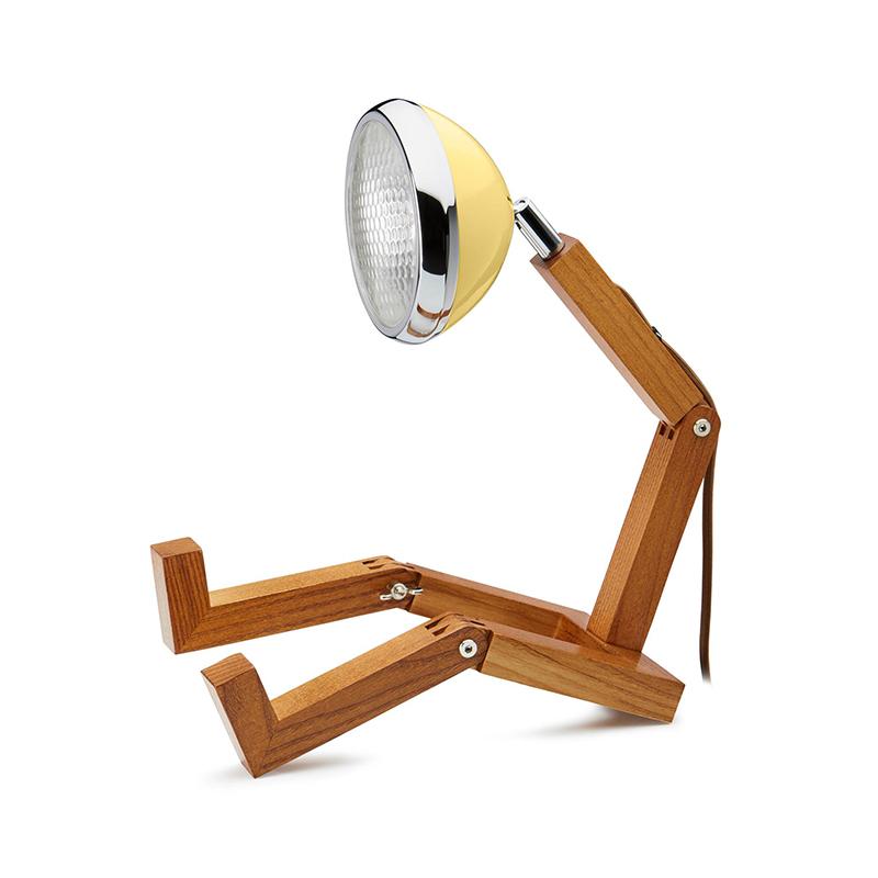 Mr. Wattson Tischlampe LED Light Yellow