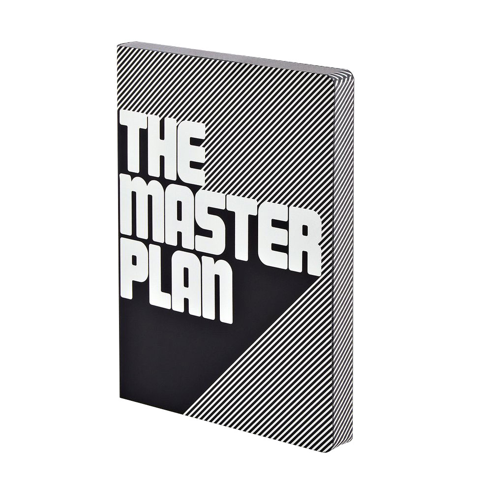 "NUUNA Notizbuch ""THE MASTERPLAN"""