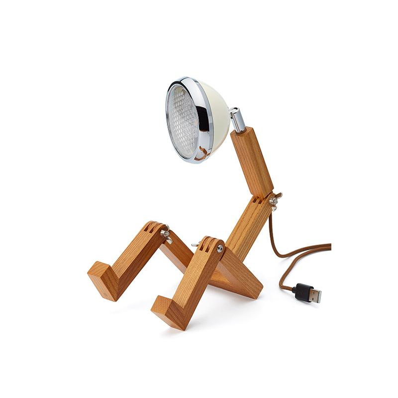 Mini Mr. Wattson, Tischlampe LED - weiss