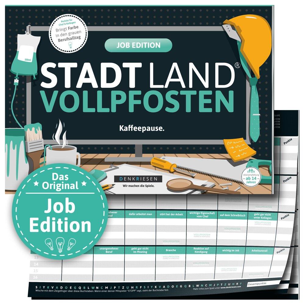 Stadt Land Vollpfosten - Job Edition