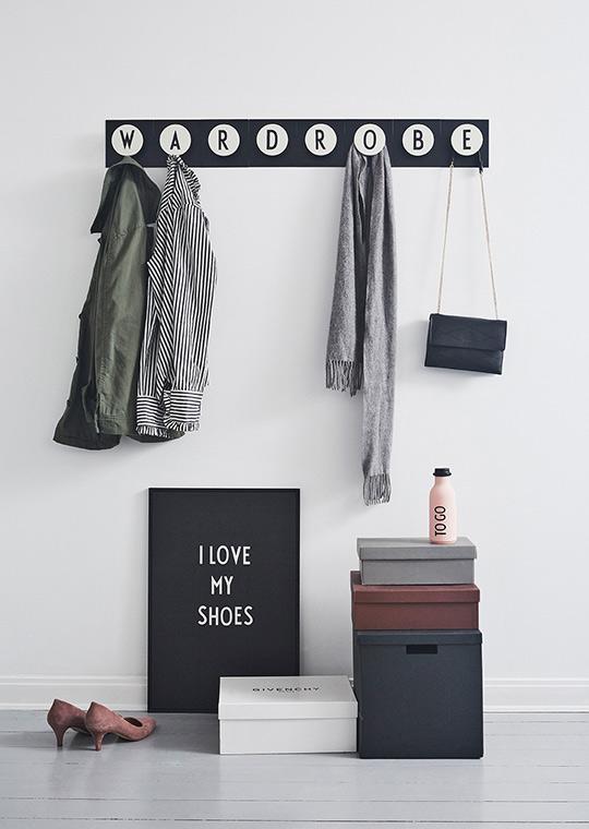 Design Letters Letter- Board A2 black