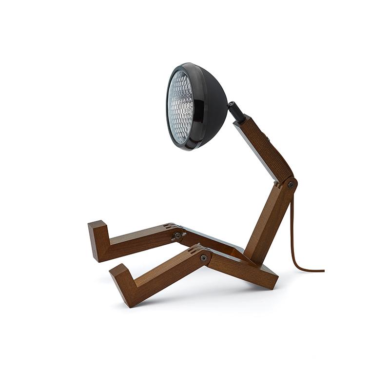 Mr. Wattson Tischlampe LED- MattBlack