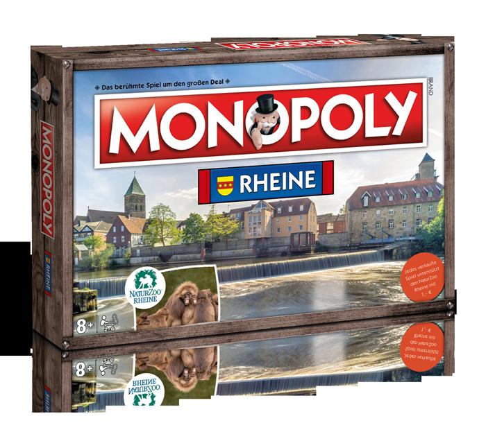 MONOPOLY RHEINE - AUSVERKAUFT!!!