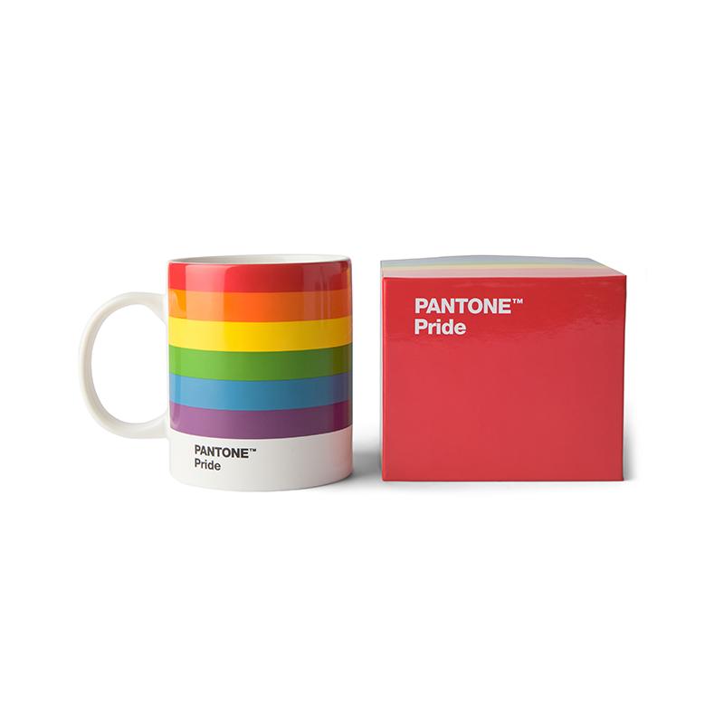 Pantone Porzellan-Becher Pride - Regenbogen