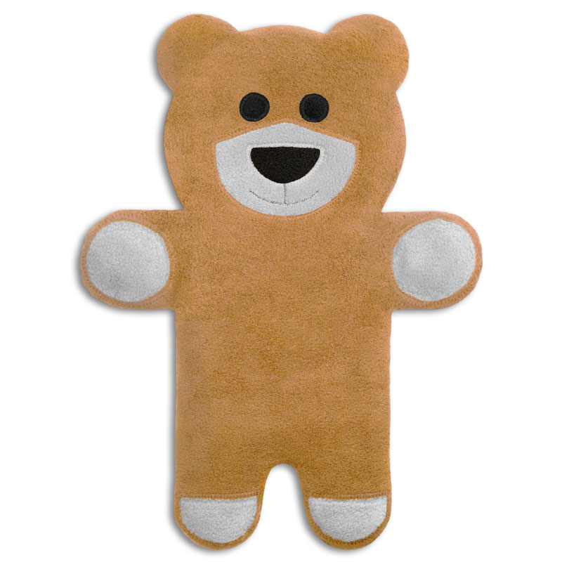 Wärmekissen Bär Teddy sand