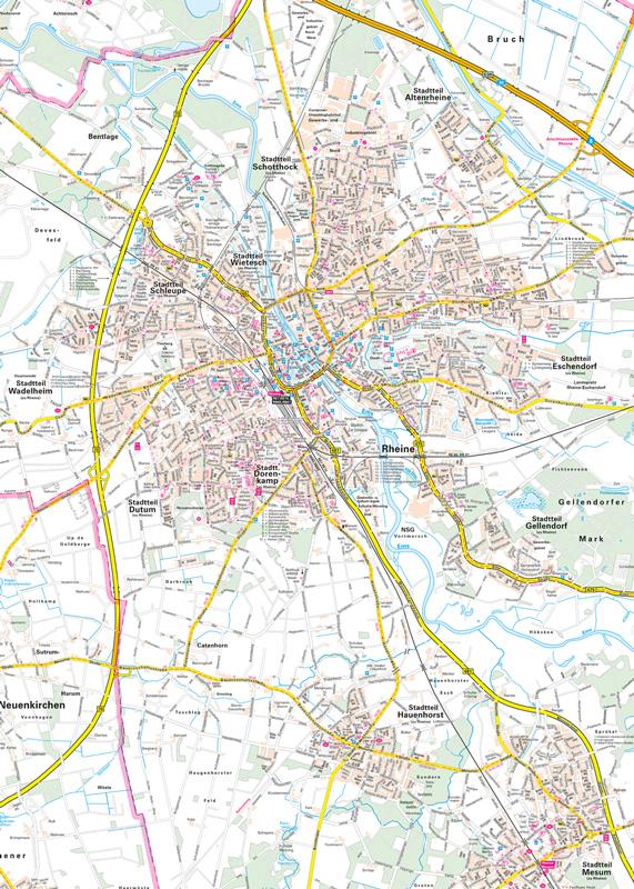 City Puzzle Rheine
